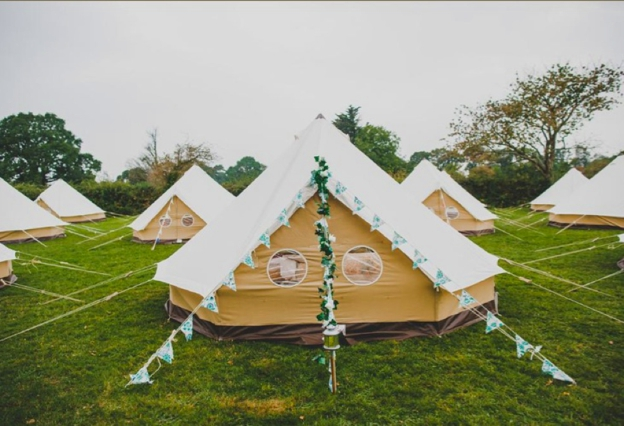 Wedding tents, yurts, tipis, marquee