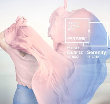 Pantone's 2016 colour of the year