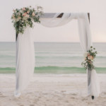 Beach ceremony Destination Wedding