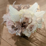 Muted florals for baby shower