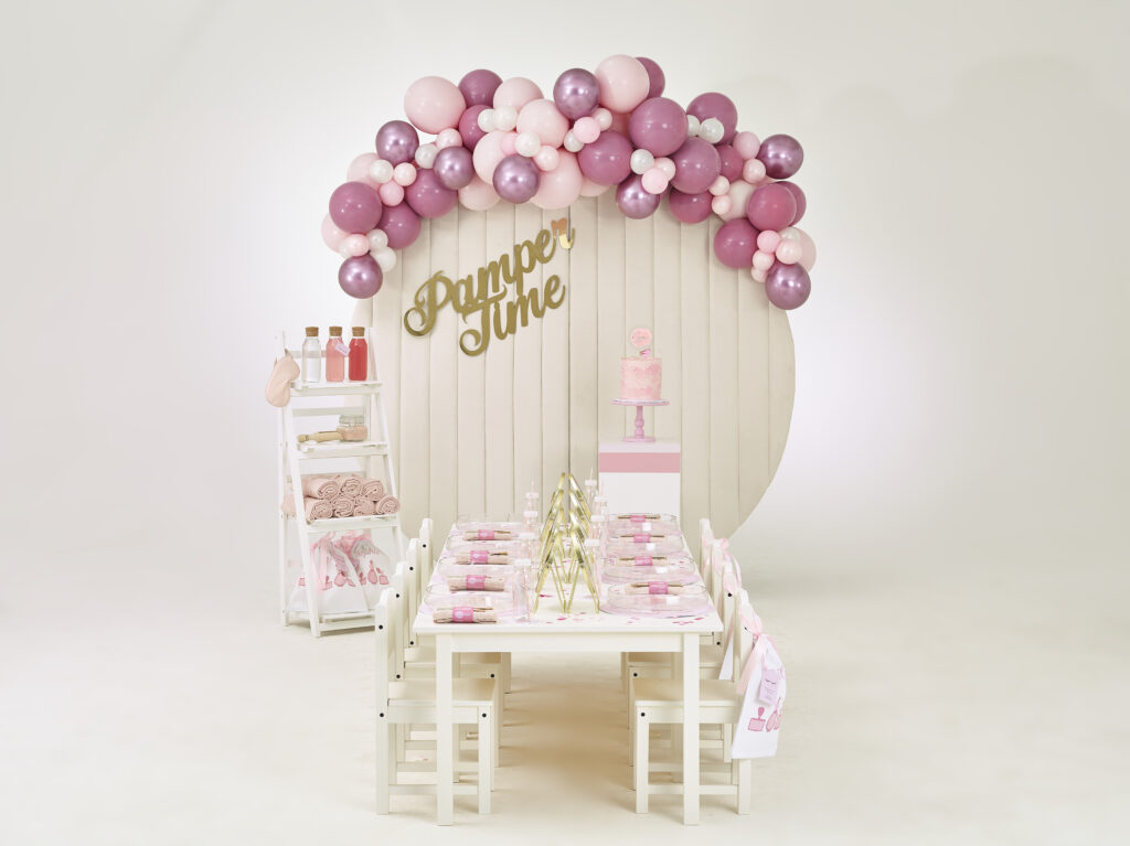 Just Bespoke The Collection // Spa themed Children's Party