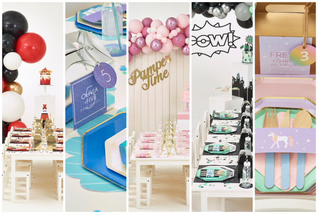 Just Bespoke The Collection // Themed Children's Party